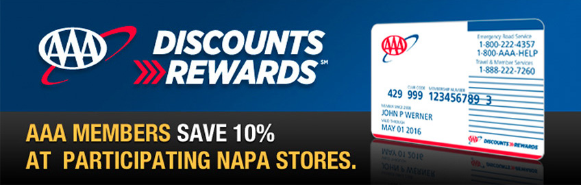 AAA 10 Percent Discount Rewards