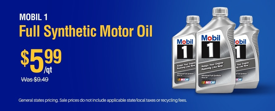 Mobile 1 Oil Special